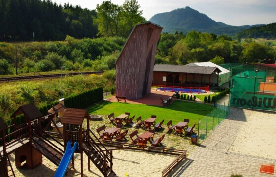 The climbing complex in Slovakia attracts professionals as well | HUTIRA