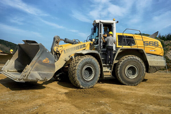 New Equipment for the Omice Quarry