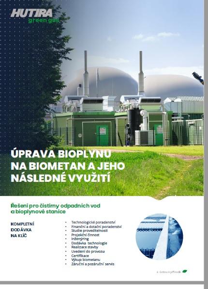 HUTIRA green gas je součástí katalogu oobnovitelných zdrojích
