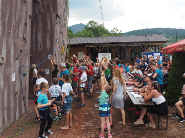 The climbing complex in Slovakia attracts professionals as well